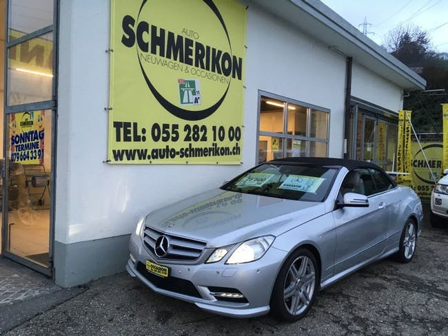 cabriolet Mercedes-Benz E-Klasse E 220 CDI BlueEfficiency 7G-Tronic