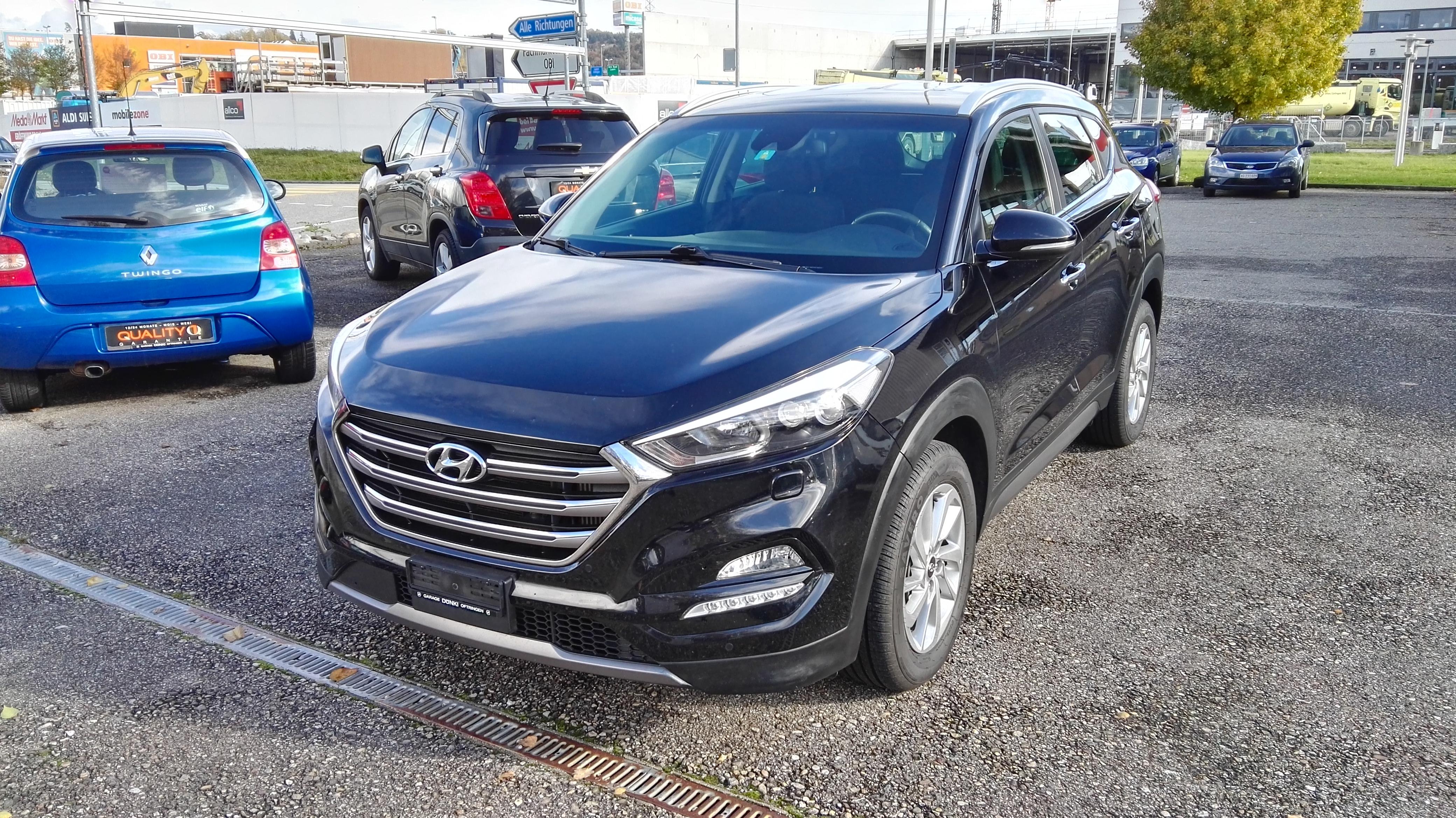 suv Hyundai Tucson 2.0 CRDi 185 Plena 4WD