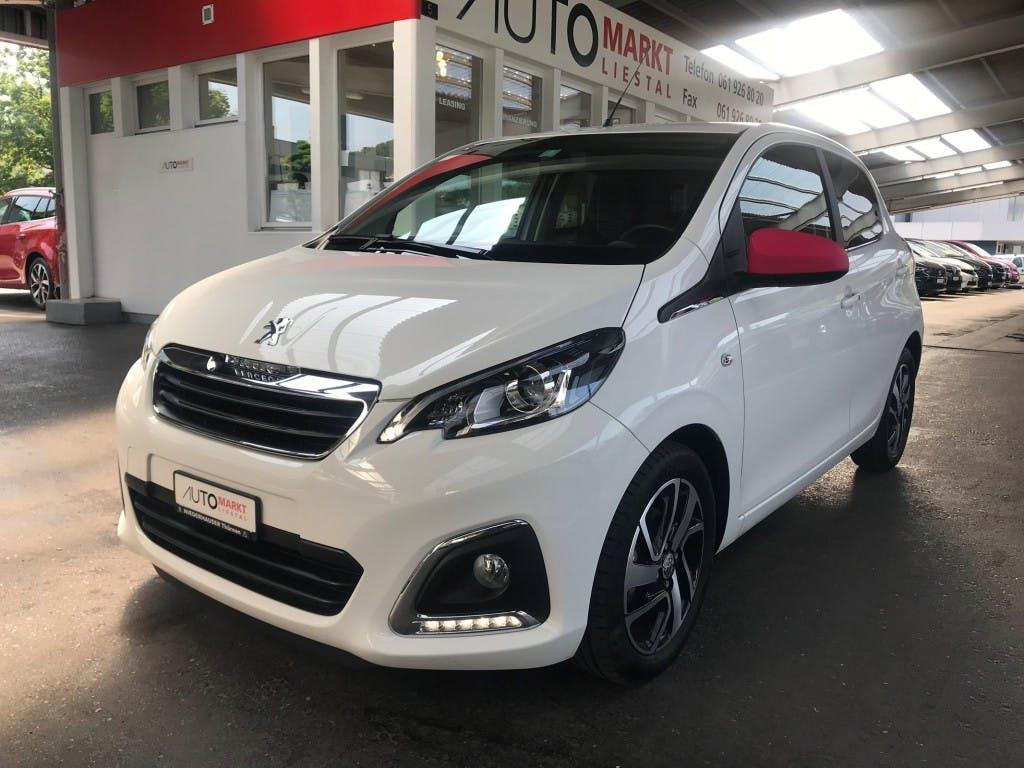 saloon Peugeot 108 1.2 Pure Tech Allure