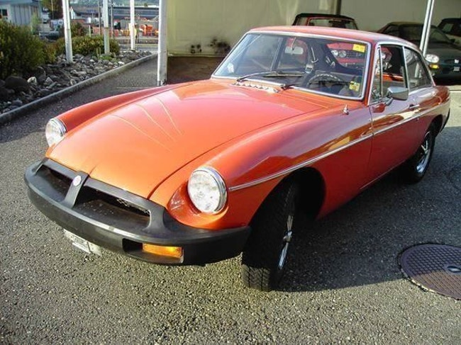 coupe MG MGB B GT