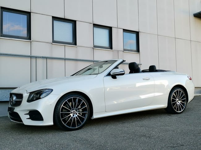 cabriolet Mercedes-Benz E-Klasse E 400 Cabriolet AMG Line 4 Matic 9G-Tronic