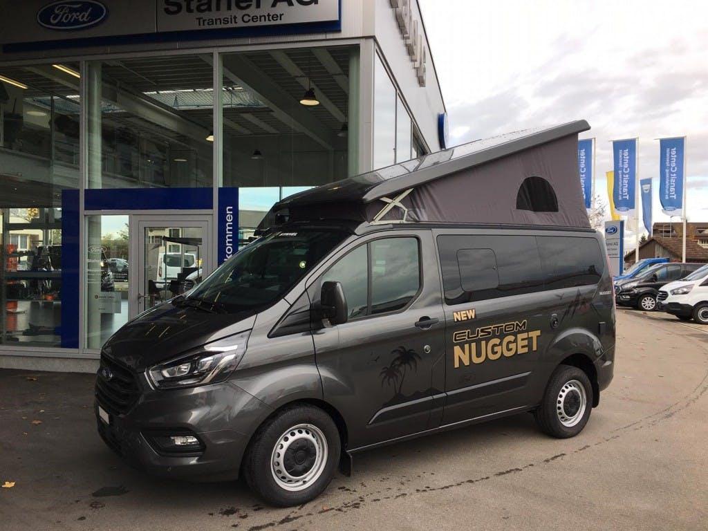 bus Ford Transit Custom Transit C Nugget 320 L1 2.0 TDCi 130 Aufstelldach