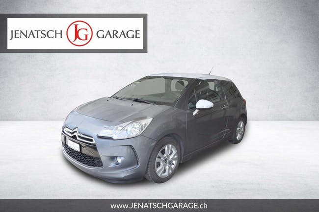 saloon DS Automobiles DS3 1.6 HDi 90 So Chic