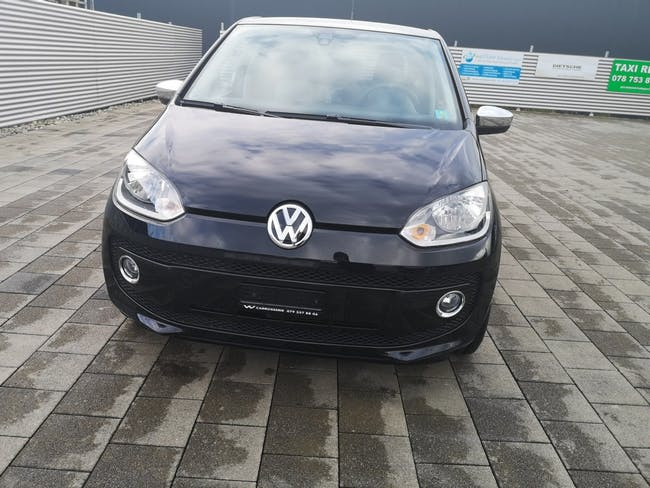 saloon VW Up 1.0 BMT black up high