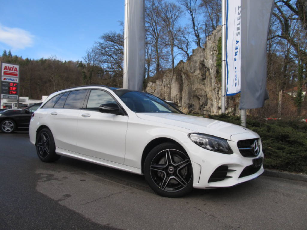 Buy Suv Mercedes Benz C Klasse C 220 D Swiss Star Amg Line 4m On