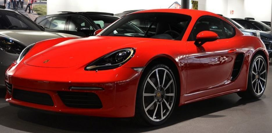 coupe Porsche Cayman New 2019 718 Cayman