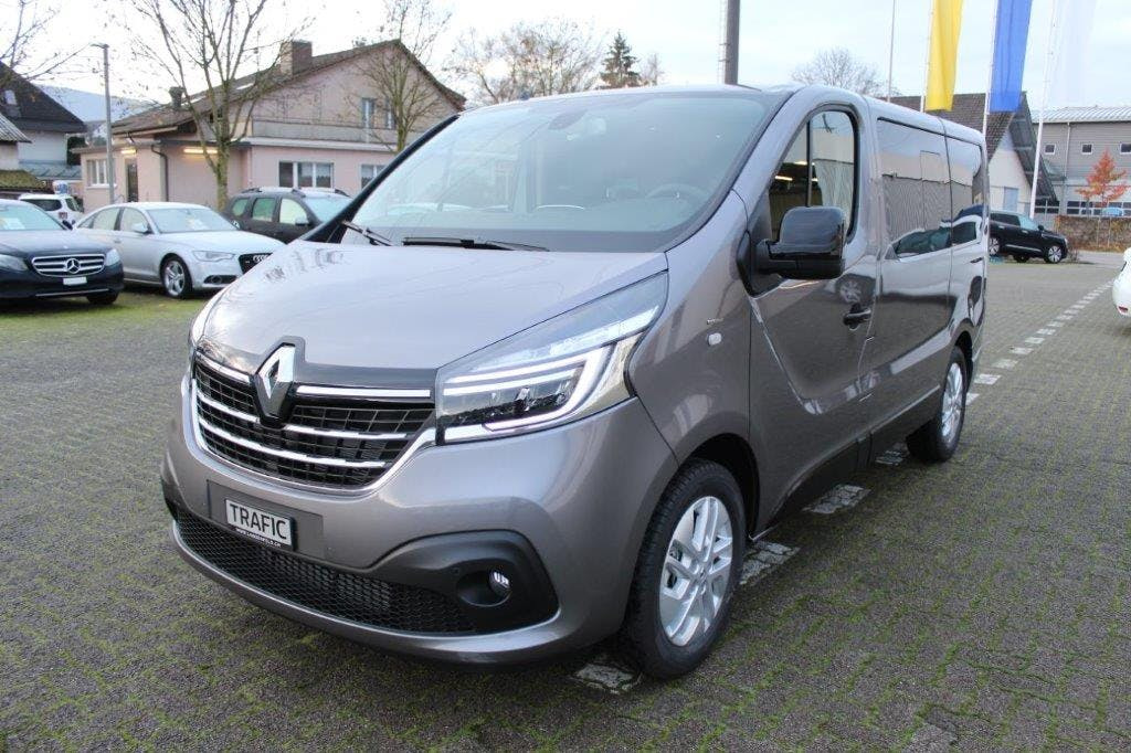 bus Renault Trafic Passenger P Spaceclass Blue dCi 1