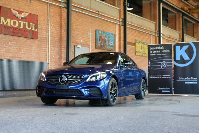 coupe Mercedes-Benz C-Klasse C 200 AMG Line 4Matic