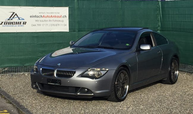 coupe BMW 6er 645i
