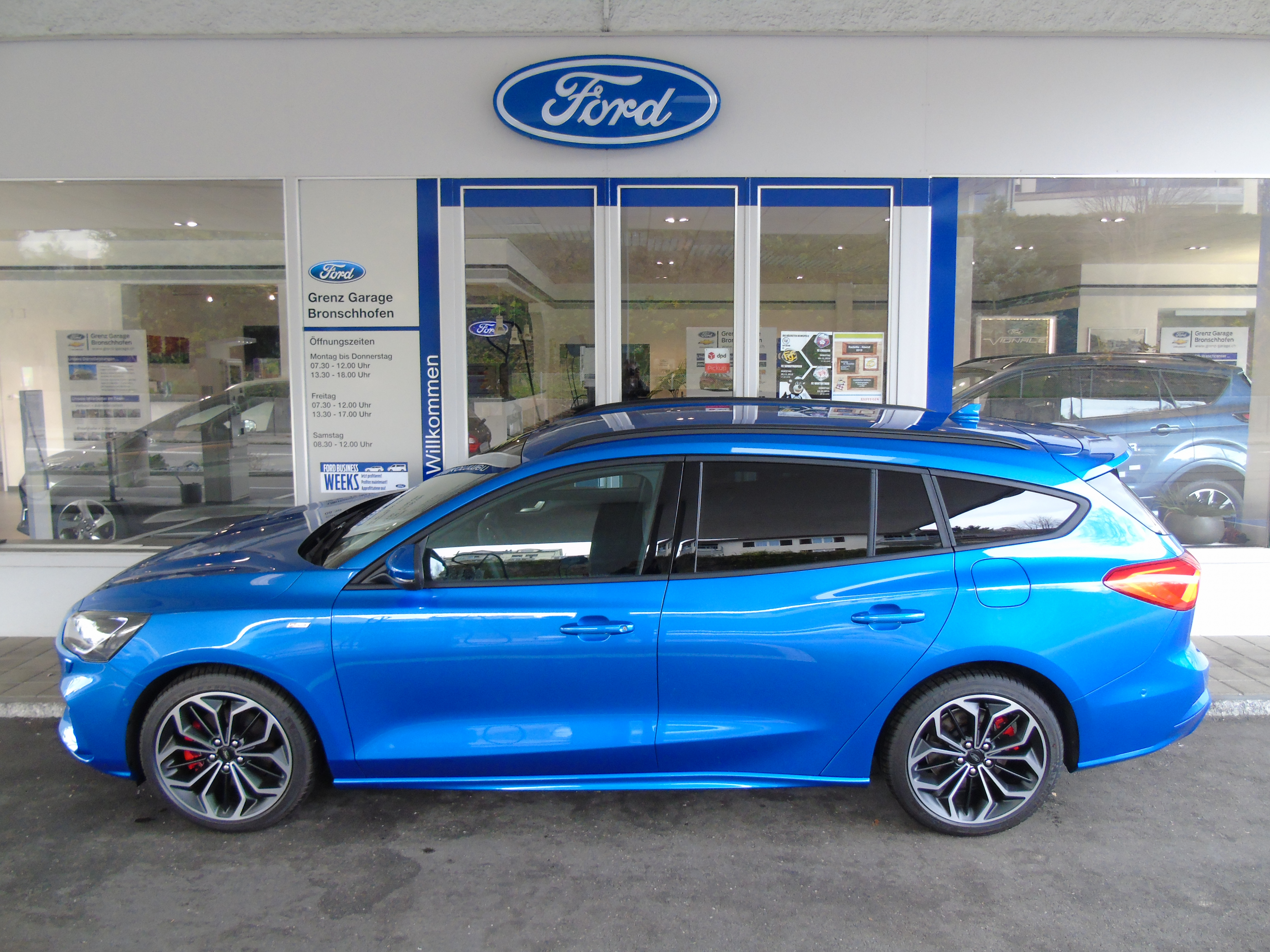 Buy Used Car Wagon Ford Focus Sw 1 0i Eb 125 St Line 5000 Km At 25790 Chf On Carforyou Ch