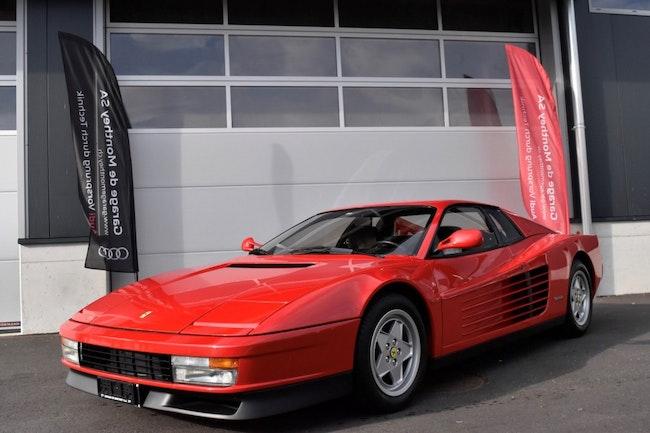 sportscar Ferrari Testarossa TESTAR./512 Testarossa 1989 /30 ans!! Logo noir