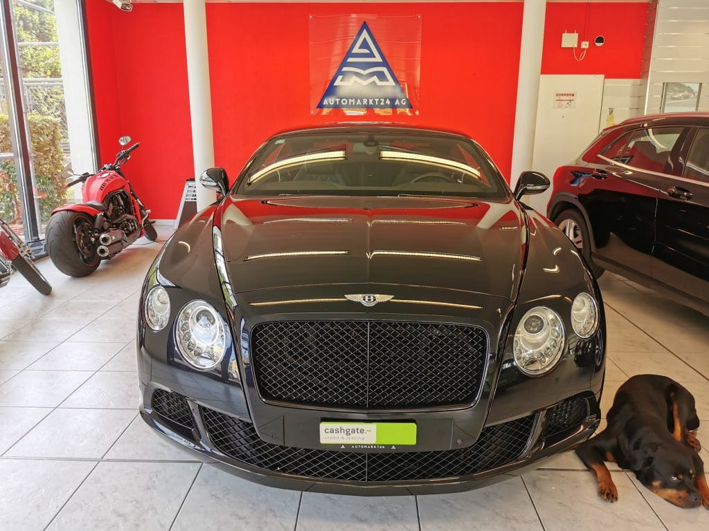 coupe Bentley Continental GT 6.0 W12 Mulliner