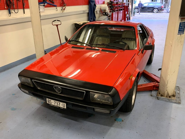 saloon Lancia Beta 137 AS 1.Serie
