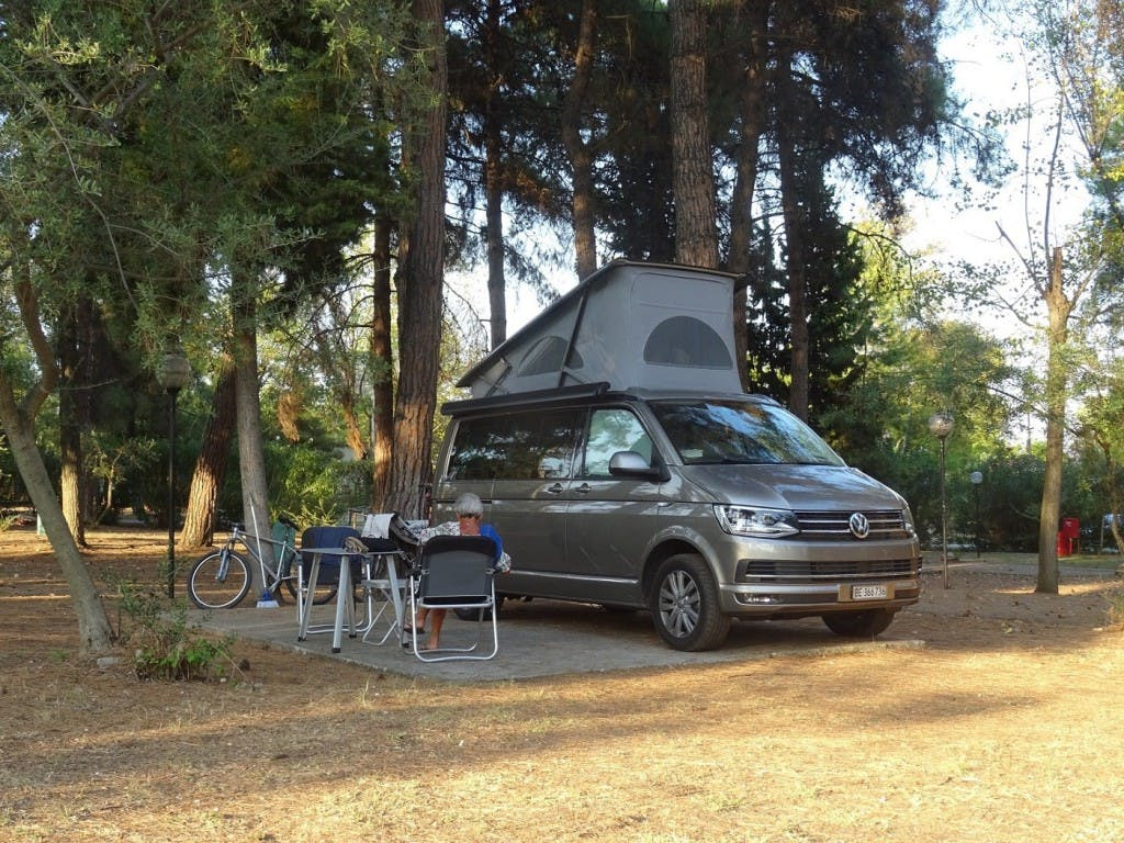 bus VW T6 California 2.0 TDI Ocean GREY