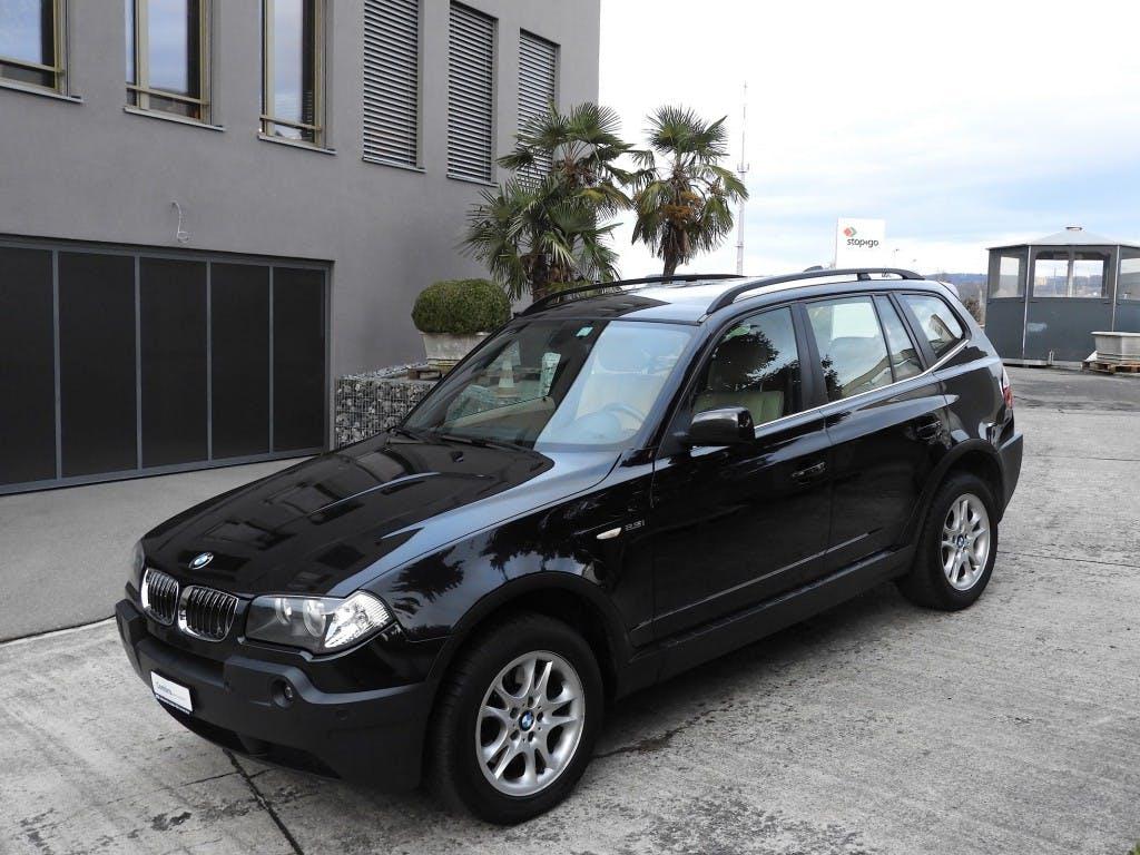 suv BMW X3 2.5i Automat, 4X4, Leder, Sitheizung, Winterpaket.- Winterbereifung