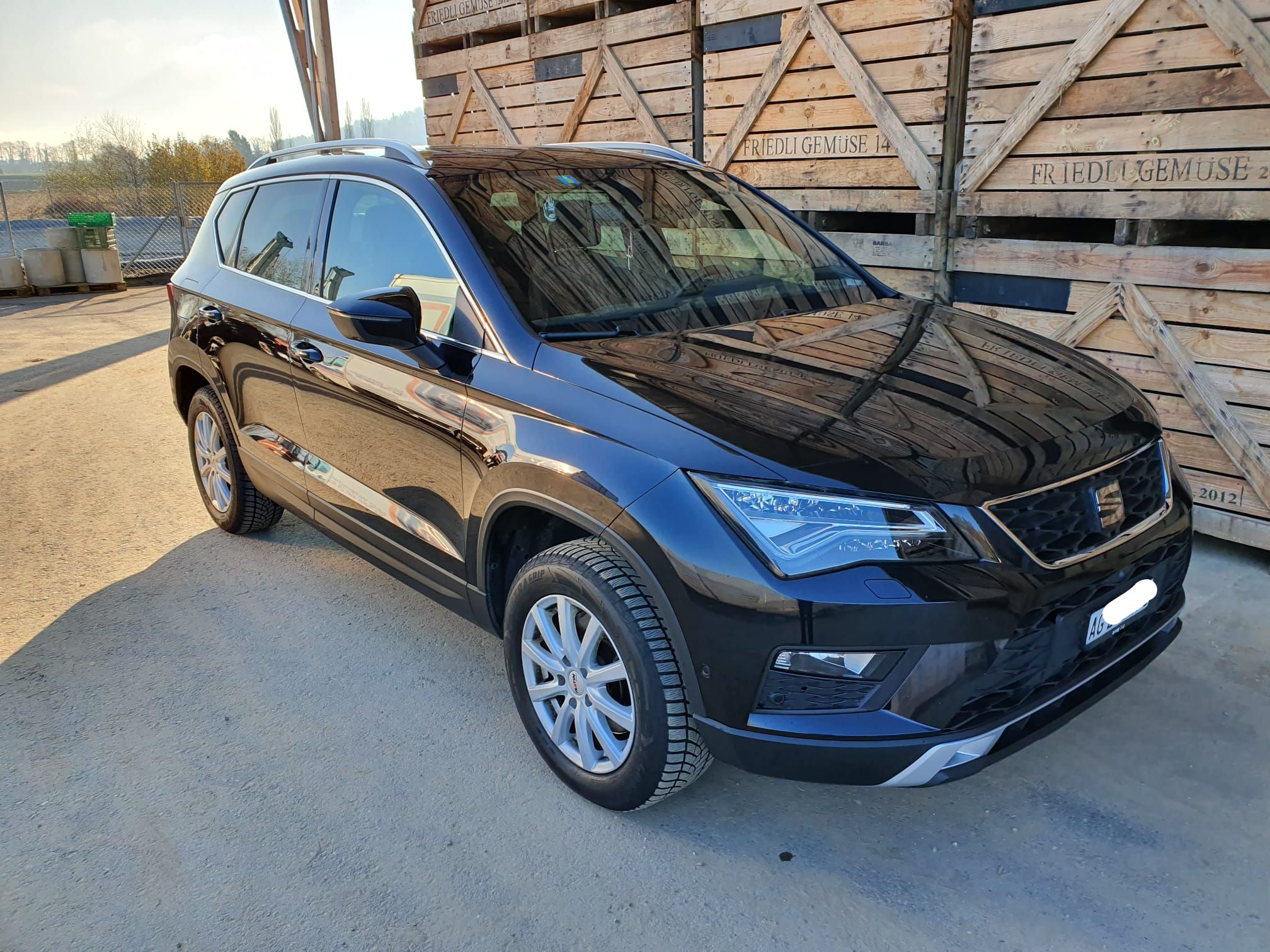 Gebraucht SUV SEAT Ateca 1.4 TSI Xcellence DSG 69500 km ...