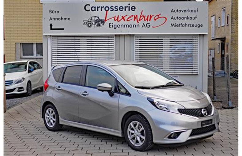 Nissan Note 1.2 DIG-S Acenta 92'000 km 10'200 CHF - buy on carforyou.ch - 1
