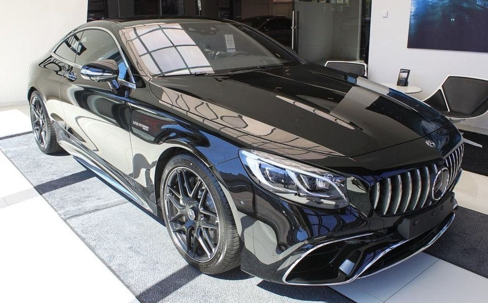 coupe Mercedes-Benz S-Klasse S-CLASS New 2019 Mercedes S 450 4Matic