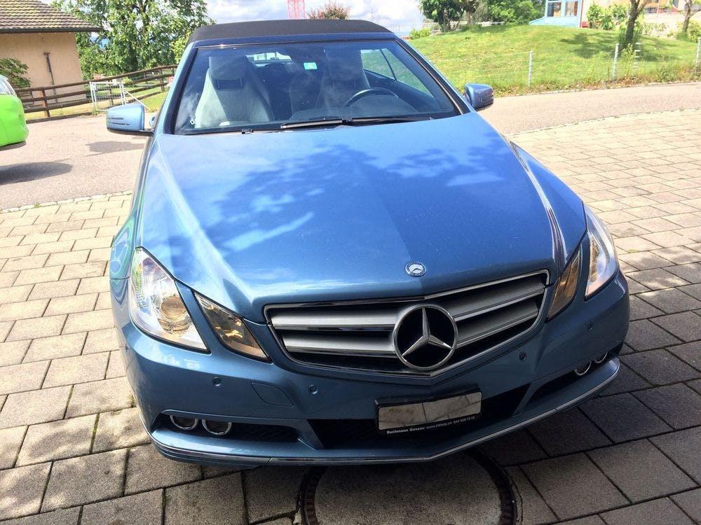 cabriolet Mercedes-Benz E-Klasse E 200 CGI BlueEfficiency Automatic