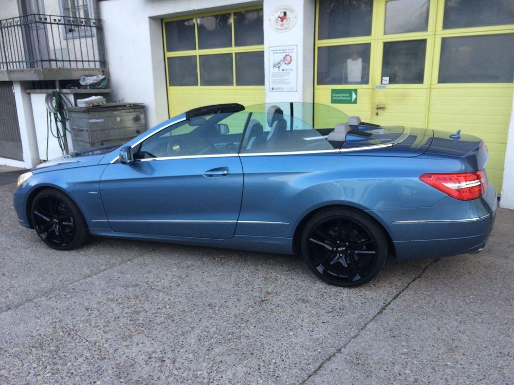 cabriolet Mercedes-Benz E-Klasse E 200 CGI BlueEF Cabriolet
