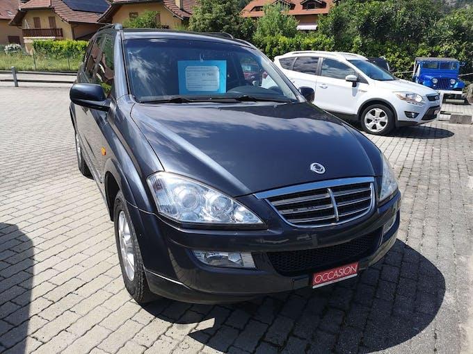 SsangYong Kyron 200 Xdi 4WD Comfort 68'000 km CHF7'800 - acheter sur carforyou.ch - 1
