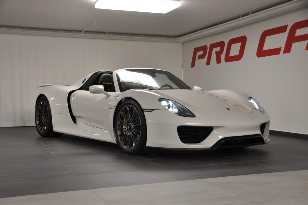 cabriolet Porsche 918 Spyder