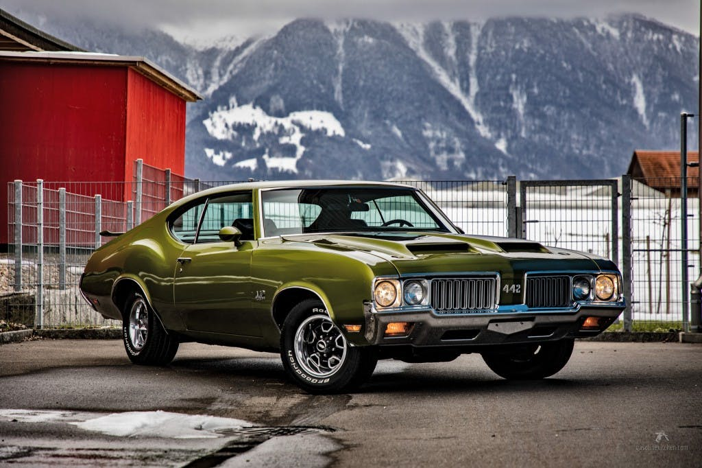 coupe Oldsmobile 442 442