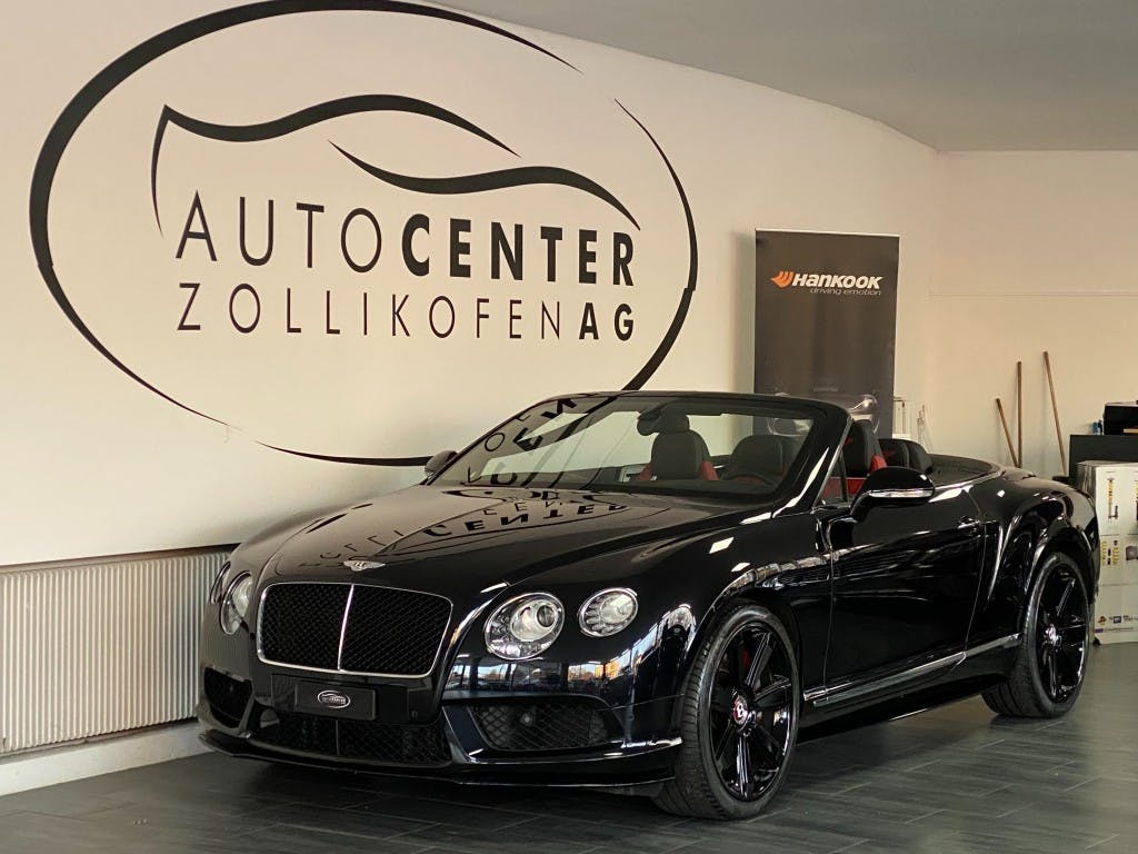 cabriolet Bentley Continental GTC 4.0 V8 S