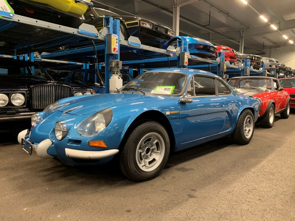 coupe Alpine A110 1600 SC