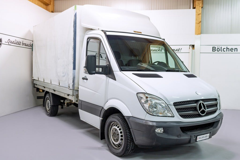 pickup Mercedes-Benz Sprinter 316 CDI Hebebühne / Blache