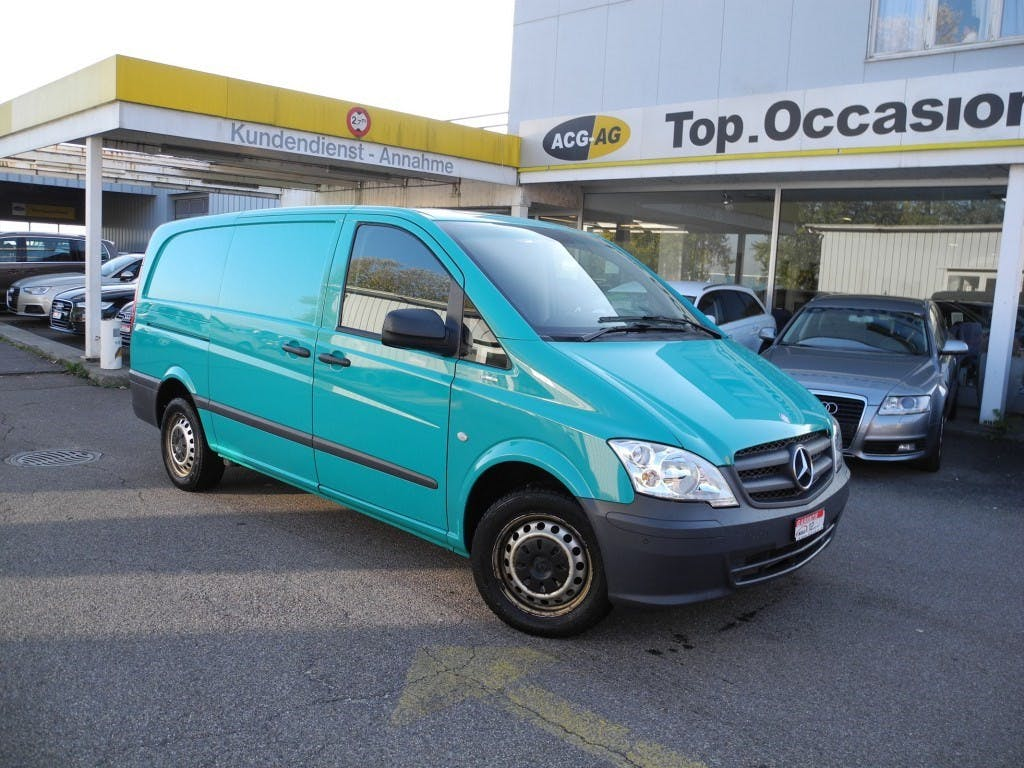 pickup Mercedes-Benz Vito 113 CDI Blue Efficiency A