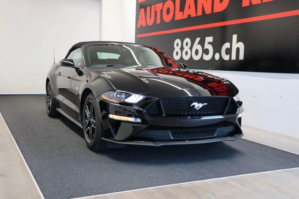 cabriolet Ford Mustang GT 5.0 V8 Premium 451PS