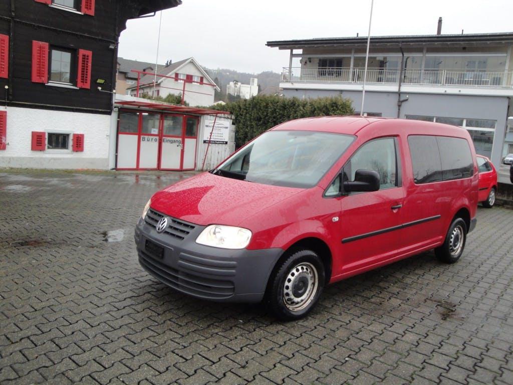 bus VW Caddy Maxi 1.9TDI
