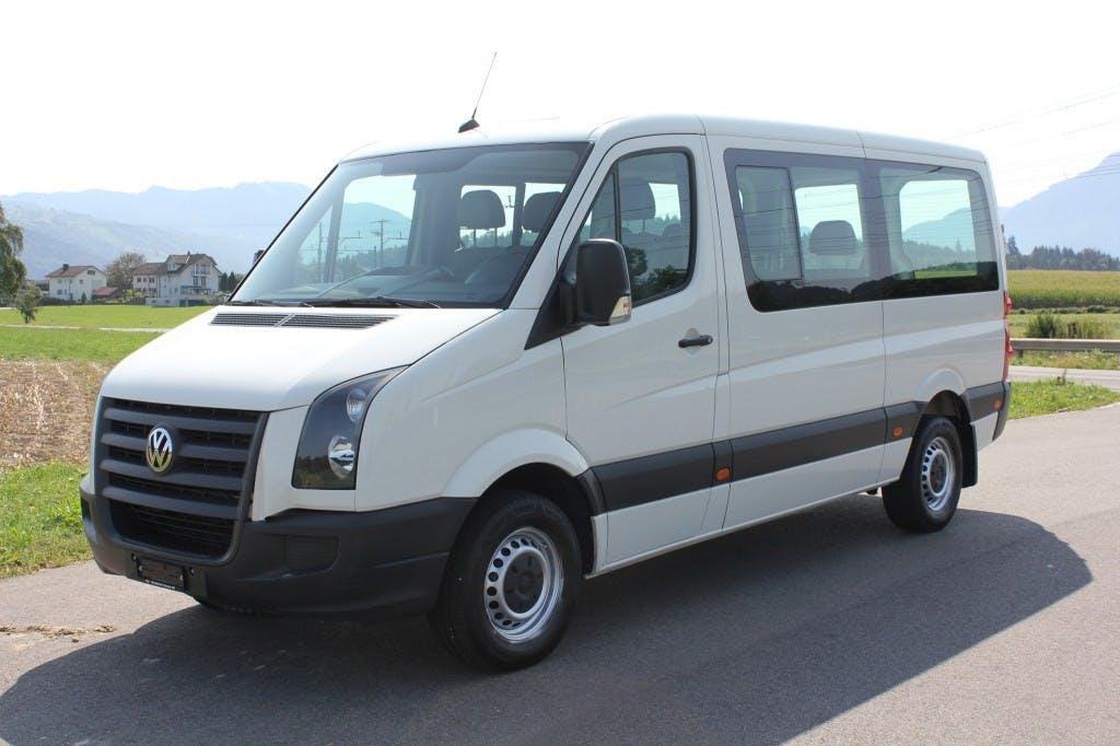 bus VW Crafter 35 2.5 TDI 109 PS *9 Sitzer mit Standheizung*