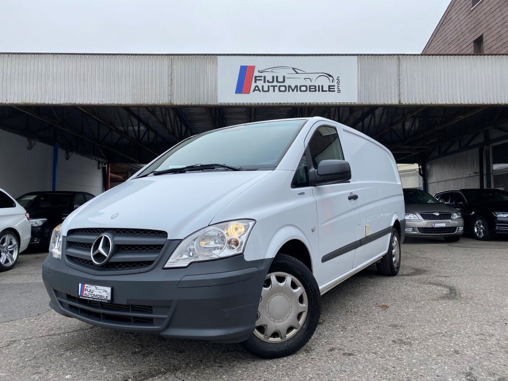 pickup Mercedes-Benz Vito KÜHLWAGEN 113 CDI Blue Efficiency