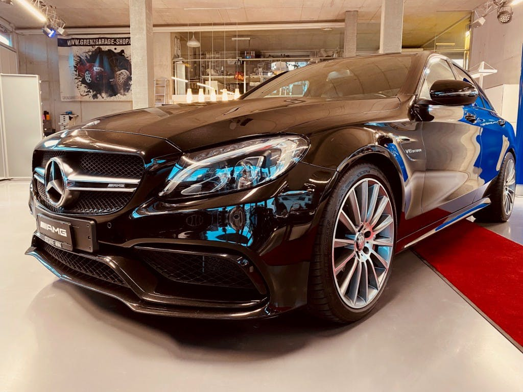saloon Mercedes-Benz C-Klasse C 63 AMG Speedshift