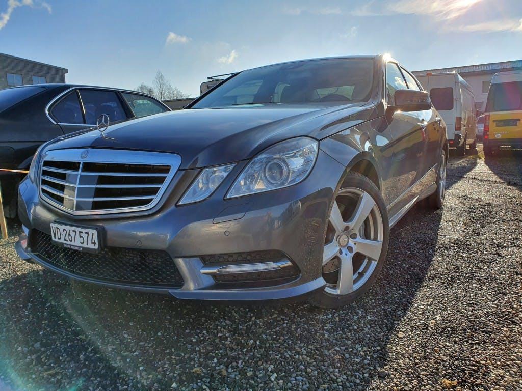 saloon Mercedes-Benz E-Klasse E 350 CDI BlueEff. Avantgarde 4Matic 7G-Tronic