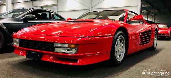 sportscar Ferrari Testarossa Testarossa