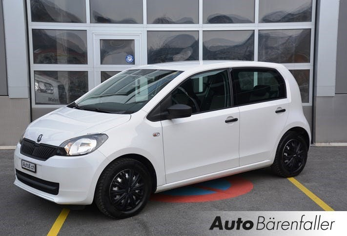 saloon Skoda Citigo 1.0 G-tec Ambition
