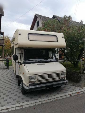 bus Peugeot J5 Wohnmobil Gudrun frisch ab MFK