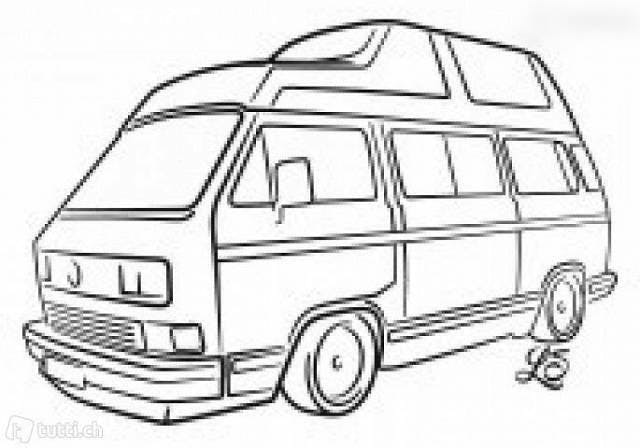bus VW Typ 2 VW T3 - VW Bus Camper