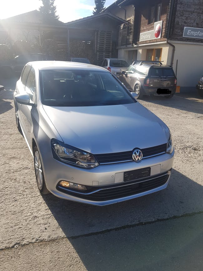 saloon VW Polo 1.4 TDI CR 105 BlueMT Highline