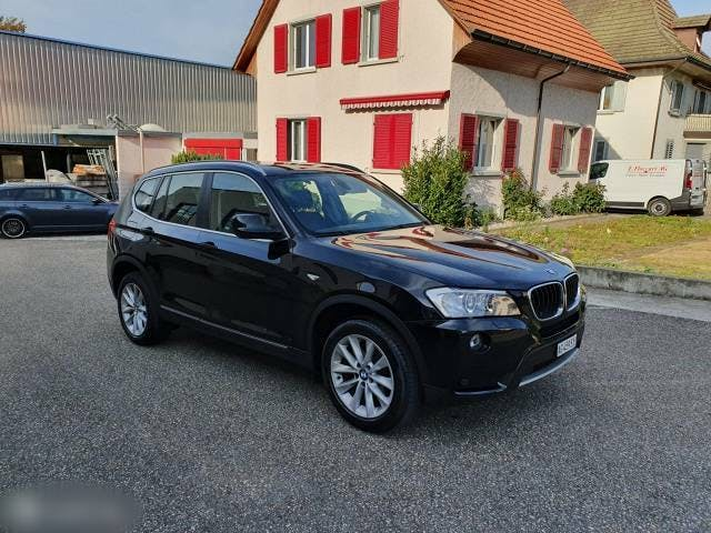 bus BMW 2er Bmw x3 xDrive 20d Steptronic