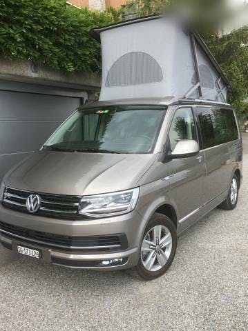 bus VW T6 VW California Ocean Grey, 4M, man., 150PS