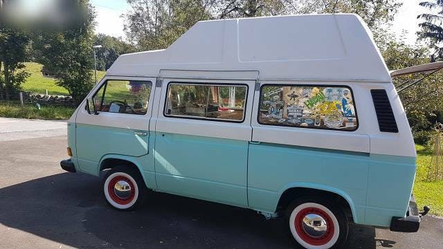 bus VW Typ 2 Vw t3 camper bus