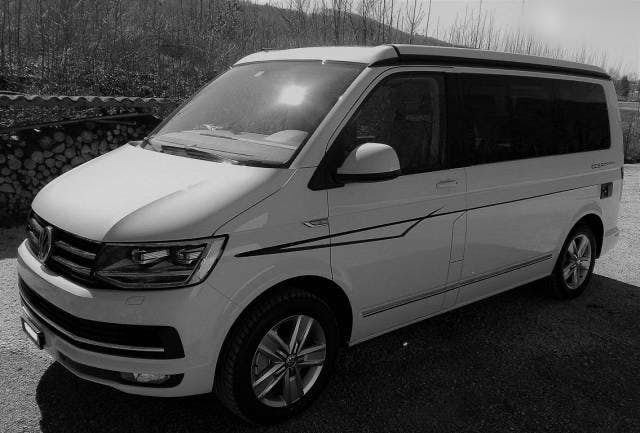 bus VW T6 VW California 2.0 TDI Ocean GREY 4Motion, Diff Sperre etc