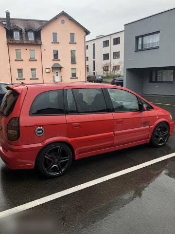 bus Opel Zafira Familie Auto