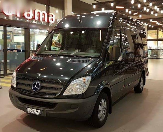 bus Mercedes-Benz Sprinter Mercedes VIP Kleinbus mit B und D1/D fahrbar