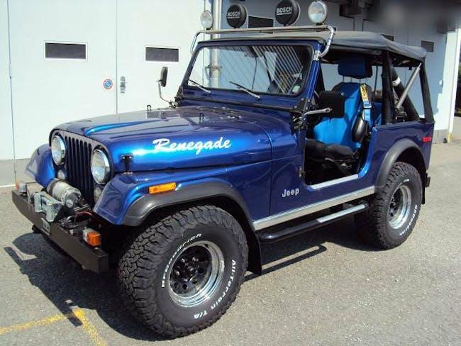 cabriolet Jeep CJ JEEP V8 Renegade Quadra - Drive