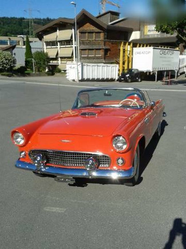 cabriolet Ford Thunderbird Ford Convertible